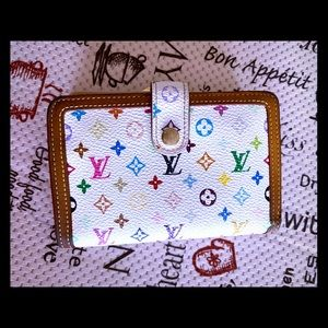 Louis Vuitton Wallet Portefeuille Viennois white